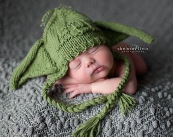 Baby Yoda Hat, Baby Yoda Beanie, Star Wars Baby, Starwars Baby, Yoda Hat, Yoda Beanie, Star Wars Hat, Star Wars Beanie