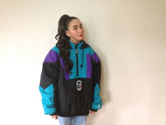 Charlotte Hornets STARTER Jacket Size XL