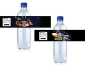 customized Angry Birds Star Wars Inspired Printable Water Bottle Labels - All Characters Included