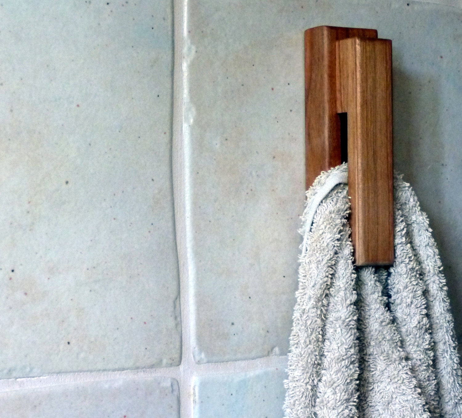 Wood towel rack towel holder amish style towel rack by bogahome