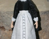 Jacobean-Style Doll Based on c. 1620 Painting