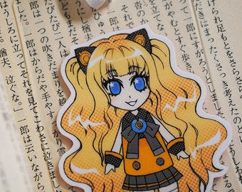 Laminated Bookmark (Business card size) / Vocaloid / SeeU / Manga / Anime