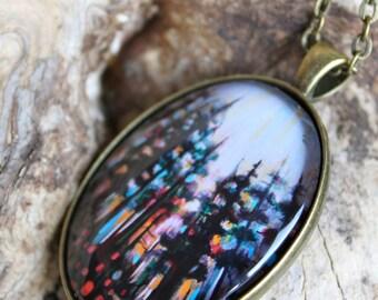 Energy Transformed Art Pendant - Wearable Art