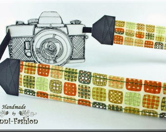 wonderful colored Camera strap, retro