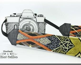 Ethno - Camera strap, DSLR, camerastrap, photographie, africa, brown