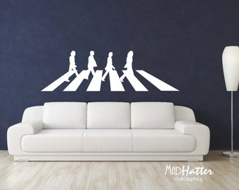 "ABBEY ROAD Wall Decal 22"" x 74"""