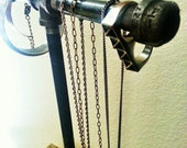Industrial Pipe Jewelry Stand