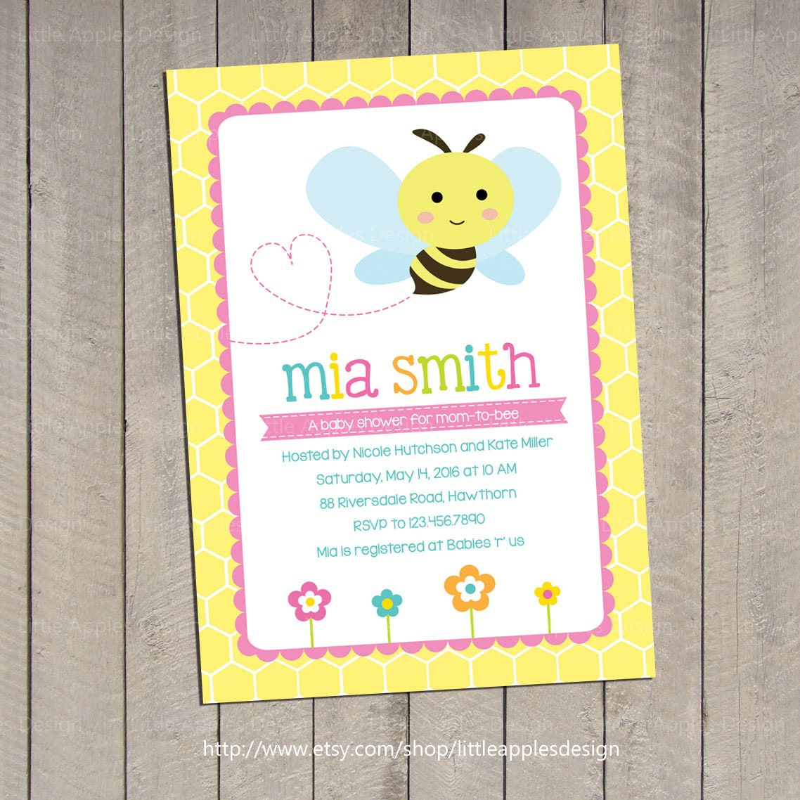 bumble bee baby shower invitation bee baby shower invitation