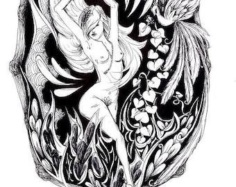 Original artwork - 'Inner Goddess lll'