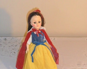 Vintage Effanbee Snow White Doll with Sleeping Eyes