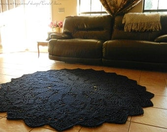 Popular Items For Navy Blue Rug On Etsy