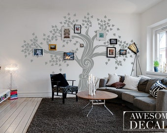 Family Tree Wall Decal - Tree Wall Decal - Custom Wall Art - Large Wall  Decal - Office Wall Art - Vinyl Decals - Awesome decals / 006a