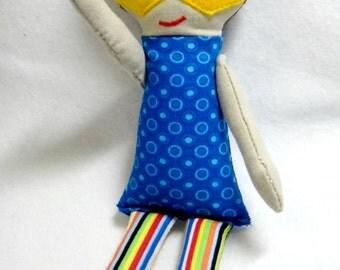 Super Hero Doll Embroidery Design