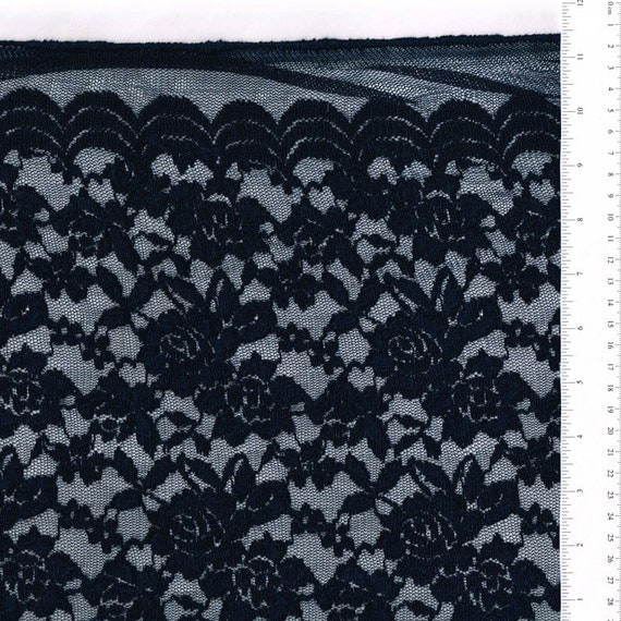 Scalloped Lace Fabric by The Yard Scalloped Lace Fabric by Yard