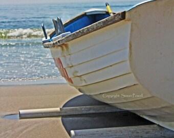 Jersey Shore Photography, Beach Photography, Ocean Photos, Beach Wall Art, Boat Photo, Blue Water