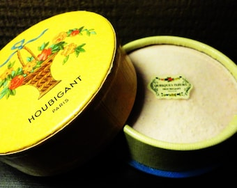 Box Powder HOUBIGANT Paris Vintage 1930 Discount code-10% : CXTEN