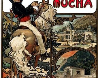 ALPHONSE MUCHA artwork collection of images - paintings Czech Nouveau painter decorative digital download