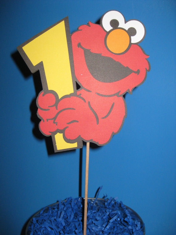 Elmo 1st Birthday Cake Toppers Image Inspiration of Cake and
