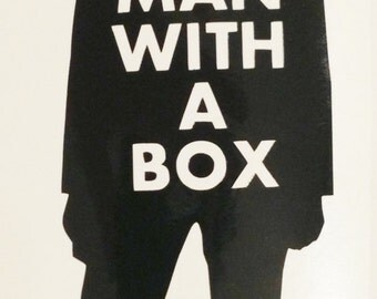 Doctor Who Inspired- Eleventh Doctor Mad Man with a Box Vinyl Decal