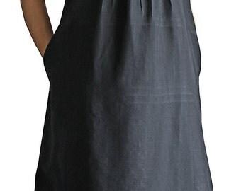 Mix Burmese Silk Pin Tuck Sleeveless Dress (DNN-053-01)