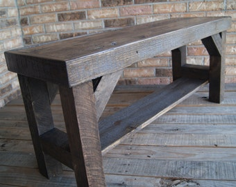 Popular items for entryway bench on Etsy