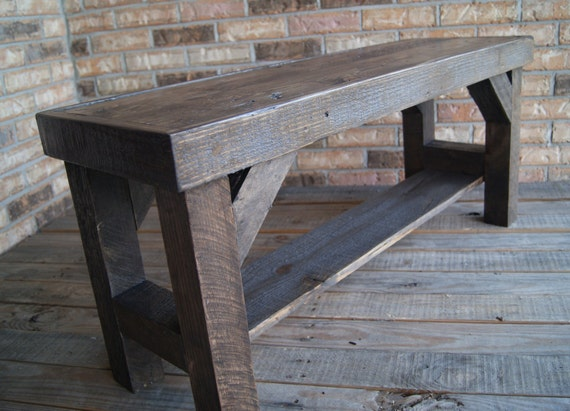 Items Similar To Bench Farmhouse Bench Benches Entryway Bench Rustic Bench Wooden