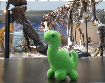 Mini Apatosaurus plush
