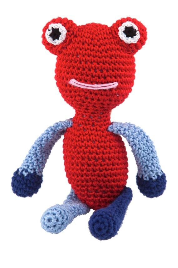 Amigurumi Doll Hands : Hand made FrogCrochet Amigurumi animal stuffed doll