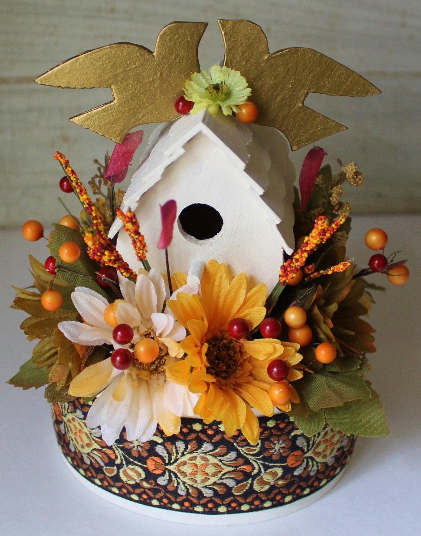 Boho Rustic Woodland Wedding Cake Topper By ForeverDenimandLace