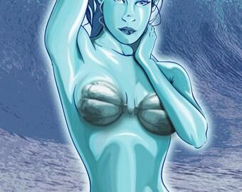 Water Elemental 11x17 Print
