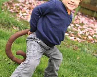 Monkey Tail & Ears - Kids Animal costume
