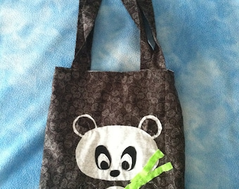 Cute Library Tote Bag - Reversible