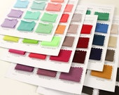Jersey Knit Sample Color Cards