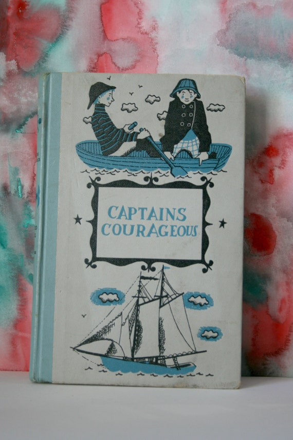 Vintage Hardback Captains Courageous, 1957