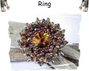 Anemone Ring Tutorial English  PDF File