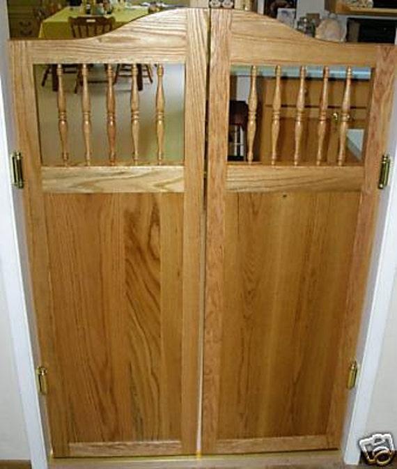 Oak Cabinet Shaker Style Cafe Saloon Doors By