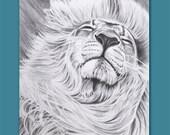 Lion ACEO ATC