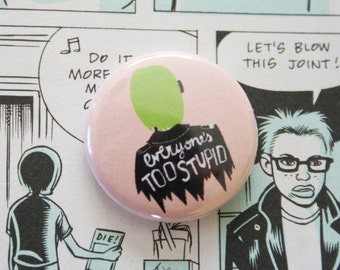 Ghost World One Inch Button