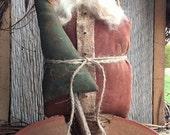 Olde Klaus EPATTERN...primitive country christmas santa cloth doll craft digital download sewing pattern...PDF...1.99