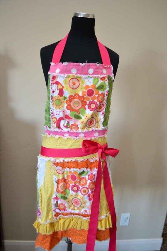 handmade apron for mothers day gift