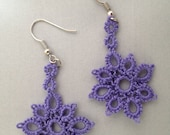 PDF Pattern for Priscilla Flower Earrings