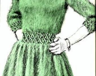 Rock-A-Billy Dress Knitting Pattern - 726104
