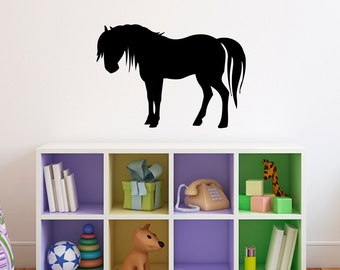 Horse Wall Decal   Girls Bedroom Wall Sticker   Horse Decal   Style 2 Part 45