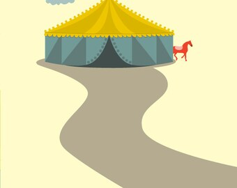 Circus Print - Different Sizes