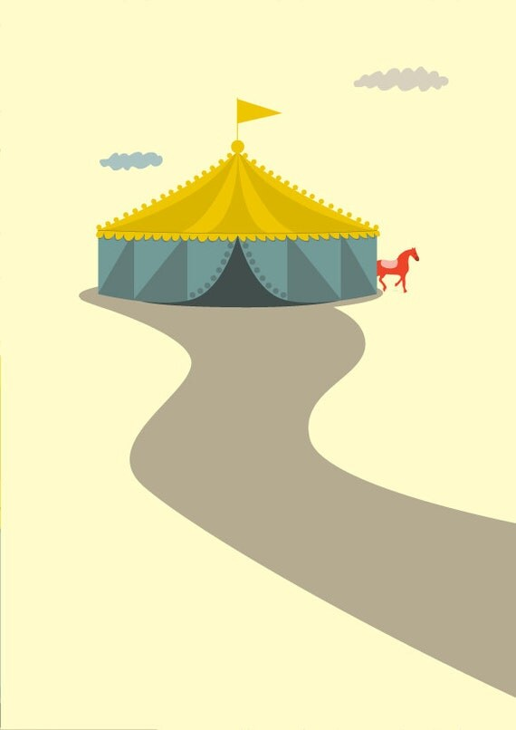 Circus Print - Different Sizes