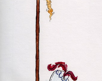 After The Revolution - original illustration