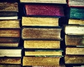 Fine Art Photograph - Square - Vintage Books - Wall Art