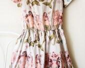 The Mermaid dress - an original design by Caitlin Shearer