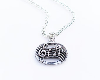 Music Jewelry Necklace Women Jewelry Teen Girl Tween Girl Jewelry Gift Charm SALE Jewelry
