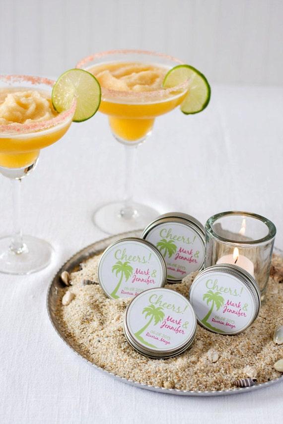 Destination wedding favor Colored gourmet margarita salt 50